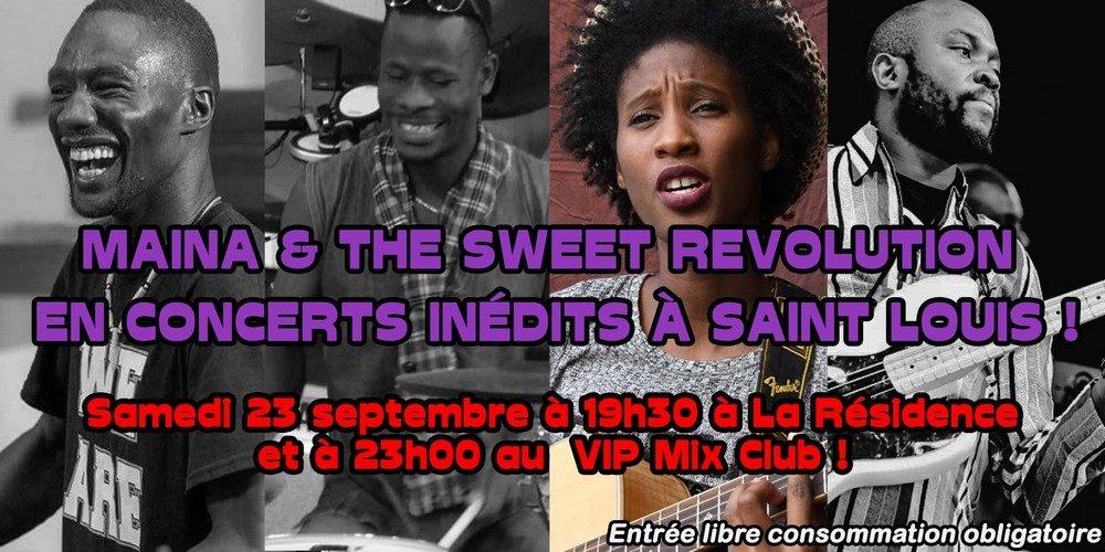 Maïna & the Sweet Revolution en concert inédit à la Résidence