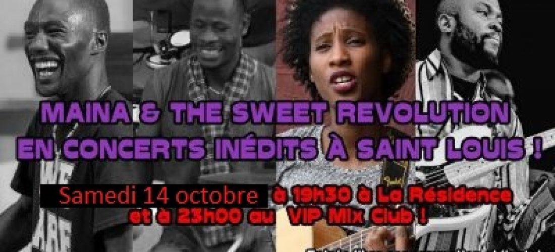 Reprogrammé : Maïna & the Sweet Revolution en concert inédit à la Résidence