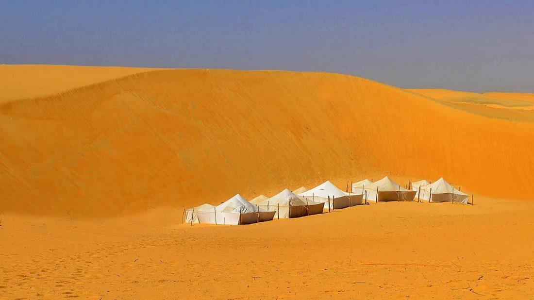 Bivouac au désert de Lompoul
