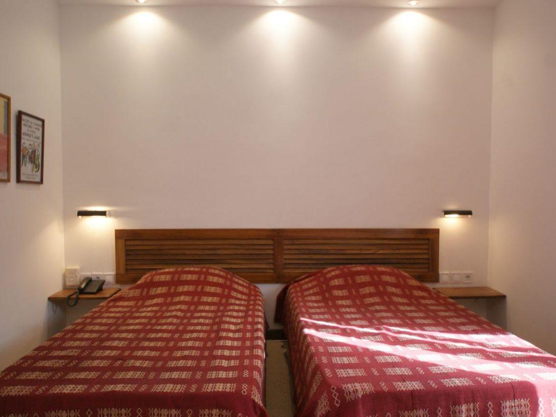 Chambre double avec lit twin