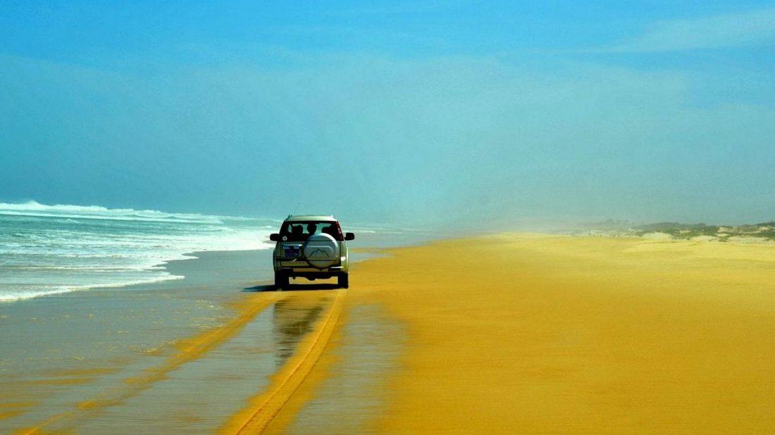 Lompoul sur Mer par la plage