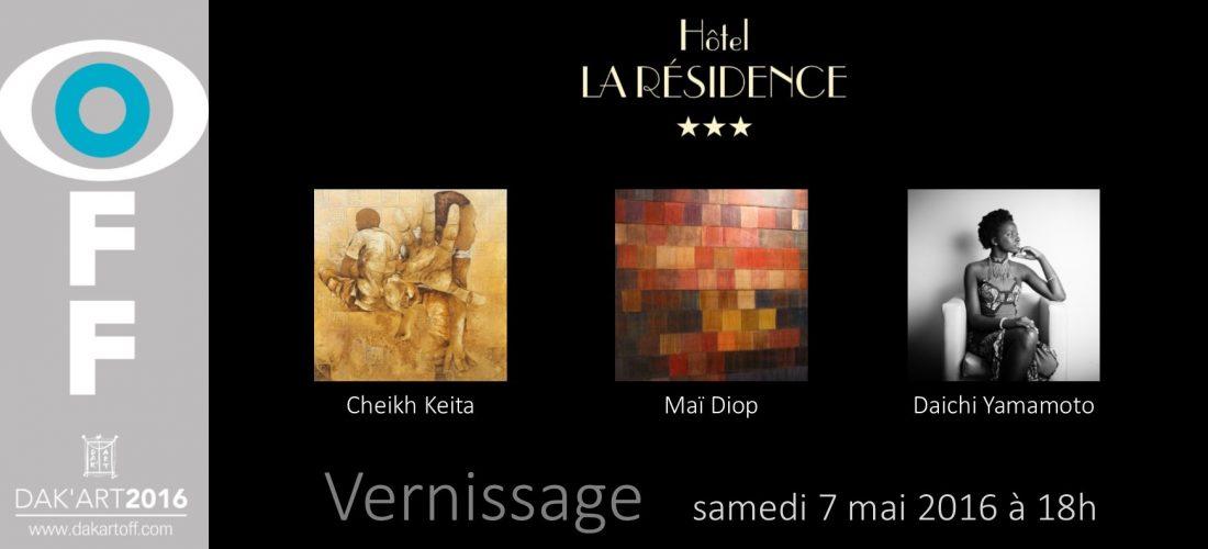 Dak'Art 2016 : Vernissage le samedi 7 mai à 18h à la Résidence